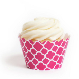 Cupcake Wrappers Pink, Gitter
