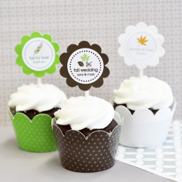 Wrapper & Topper personalisiert (Herbst-Thema)