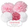 "Pom Poms Set ""Candybar"" by nillie"
