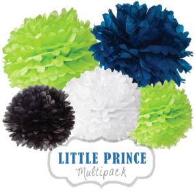 "Pom Poms Set ""Little Prince"" by nillie"