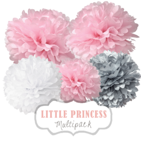 "Pom Poms Set ""Little Princess"" by nillie"
