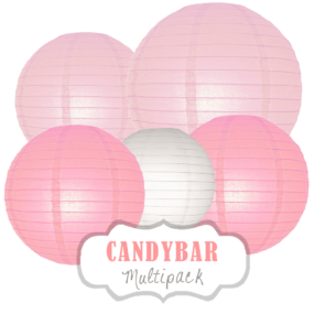 "Lampions-Set ""Candybar"" by nillie"