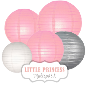 "Lampions-Set ""Little Princess"" by nillie"