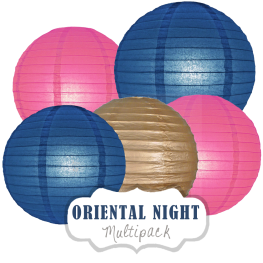 "Lampions-Set ""Oriental Night"" by nillie"