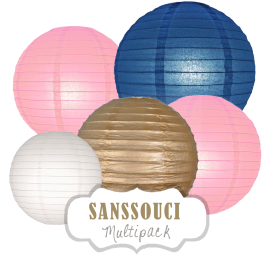 "Lampions-Set ""Sanssouci"" by nillie"