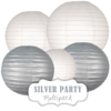 """Lampions-Set """"Silver Party"""" by nillie"""