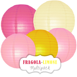 "Lampions-Set ""Fragola-Limone"" by nillie"