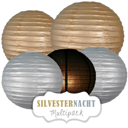 "Lampions-Set ""Silvester"" by nillie"