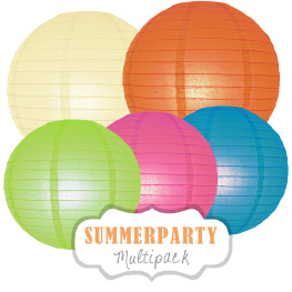 "Lampions-Set ""Summerparty"" by nillie"