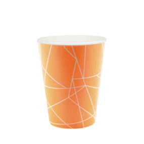 Partybecher/ Pappbecher (Orange)