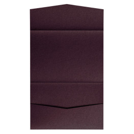 nillie Pocketfolds 13x18 cm, Aubergine (Metallic)