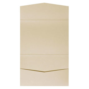 nillie Pocketfolds 13x18 cm, Beige (Metallic)