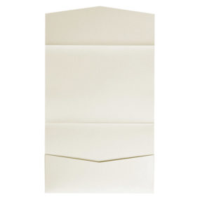 nillie Pocketfolds 13x18 cm, Ivory (Metallic)
