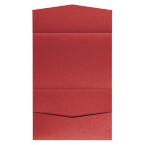 nillie Pocketfolds 13x18 cm, Rot (Metallic)