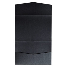 nillie Pocketfolds 13x18 cm, Schwarz (Metallic)
