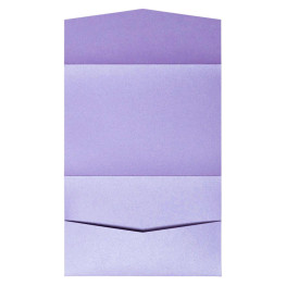 nillie Pocketfolds 13x18 cm, Violett (Metallic)