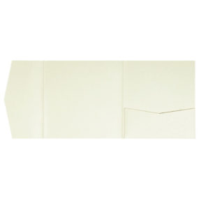 nillie Pocketfolds 15x15 cm, Champagner (Metallic)