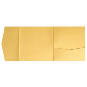 nillie Pocketfolds 15x15 cm, Gold (Metallic)