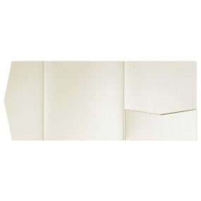 nillie Pocketfolds 15x15 cm, Ivory (Metallic)