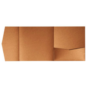 nillie Pocketfolds 15x15 cm, Kupfer (Metallic)