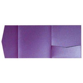 nillie Pocketfolds 15x15 cm, Lila (Metallic)