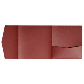nillie Pocketfolds 15x15 cm, Marsrot (Metallic)