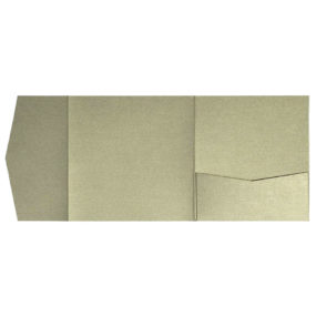 nillie Pocketfolds 15x15 cm, Messing (Metallic)