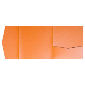 nillie Pocketfolds 15x15 cm, Orange (Metallic)