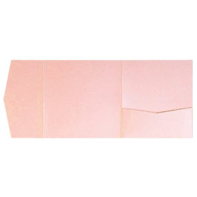 nillie Pocketfolds 15x15 cm, Rosa (Metallic)