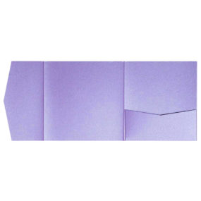 nillie Pocketfolds 15x15 cm, Violett (Metallic)