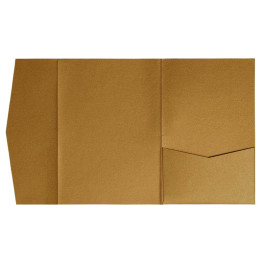 nillie Pocketfolds (Side 13x18), Altgold-Metallic