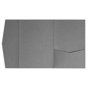nillie Pocketfolds (Side 13x18), Grau-Metallic