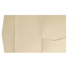 nillie Pocketfolds (Side 13x18), Beige-Metallic