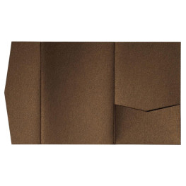 nillie Pocketfolds (Side 13x18), Bronze-Metallic
