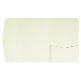 nillie Pocketfolds (Side 13x18), Champagner-Metallic