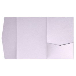 nillie Pocketfolds (Side 13x18), Flieder-Metallic