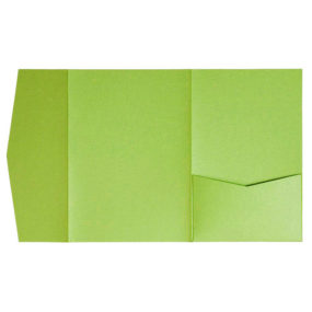 nillie Pocketfolds (Side 13x18), Grasgrün-Metallic