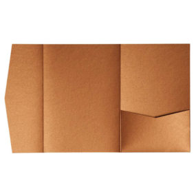 nillie Pocketfolds (Side 13x18), Kupfer-Metallic