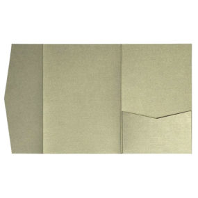 nillie Pocketfolds (Side 13x18), Messing-Metallic