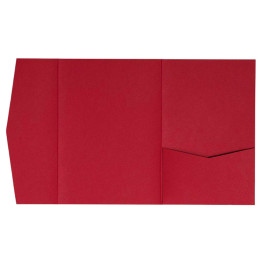 nillie Pocketfolds (Side 13x18), Rot