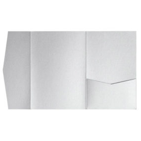 nillie Pocketfolds (Side 13x18), Silber