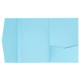 nillie Pocketfolds (Side 13x18), Tiffanyblau