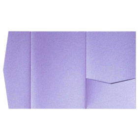 nillie Pocketfolds (Side 13x18), Violett-Metallic