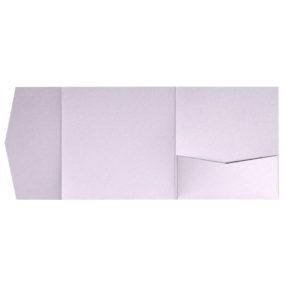 nillie Pocketfolds 15x15 cm, Flieder (Metallic)