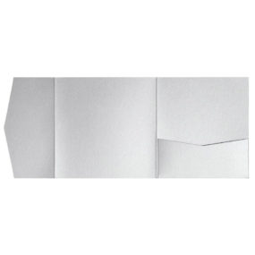 nillie Pocketfolds 15x15 cm, Silber (Metallic)