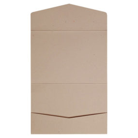 Kraft-Pocketfolds Signature 13x18, Taupe