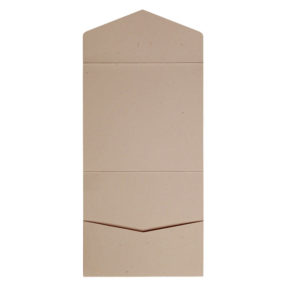 Kraft-Pocketfolds Signature 15x15, Taupe