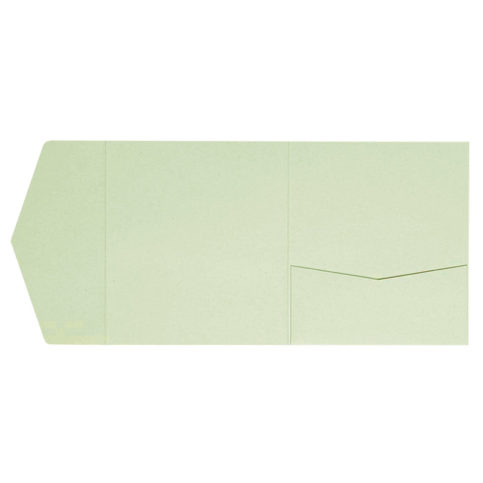 Kraft-Pocketfolds Signature Side 15x15, Grün
