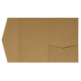 Kraft-Pocketfolds Signature Side 13x18, Braun