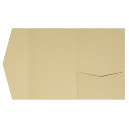 Kraft-Pocketfolds Signature Side 13x18, Hellbraun